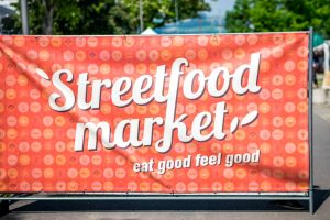 Street Food Market Festival Linz 2016 Logo - Eat good feel good